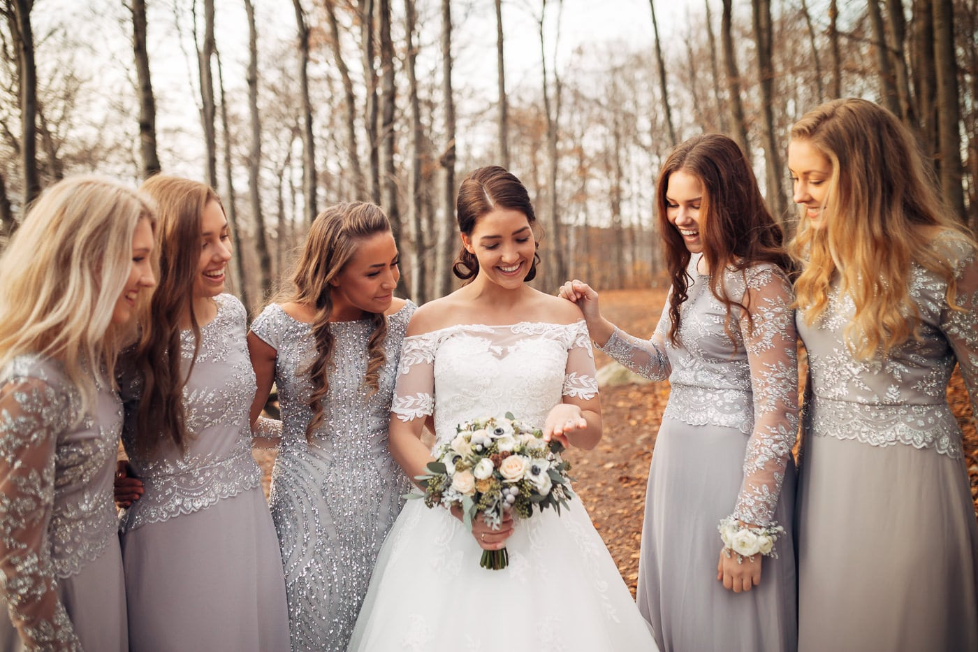 Den magiske årstiden Bokeskogen larvik bryllupsbilder 11