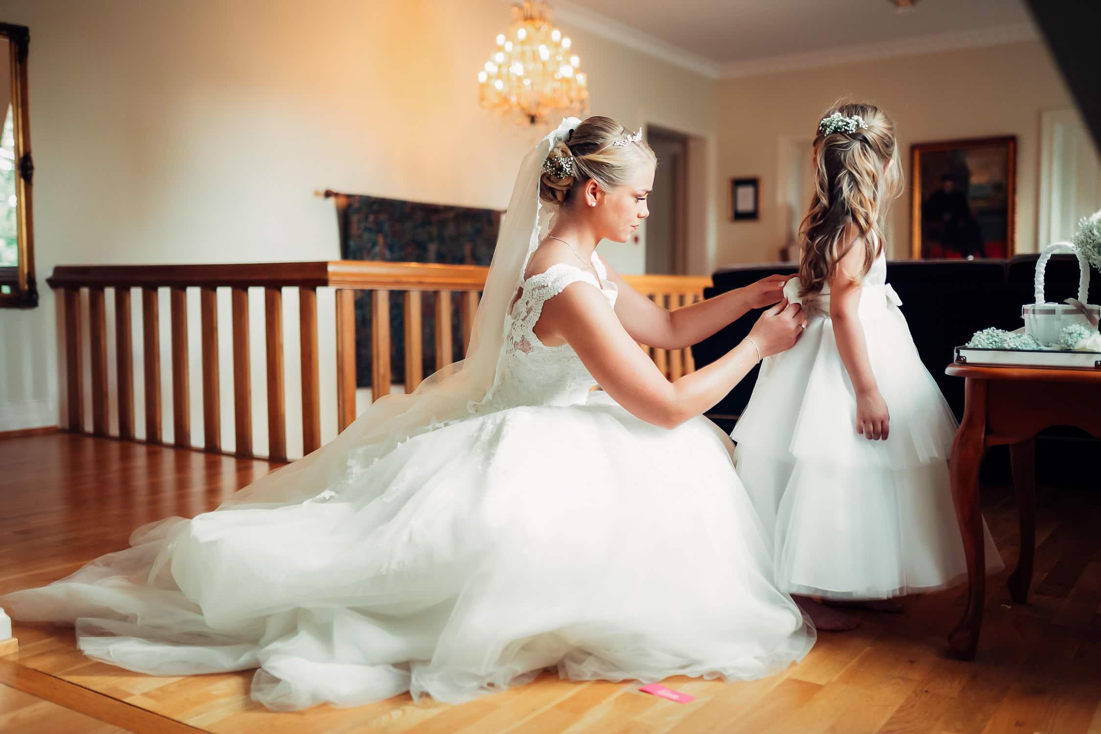 En bryllupsdag Bryllup Drengsrud Gard 1