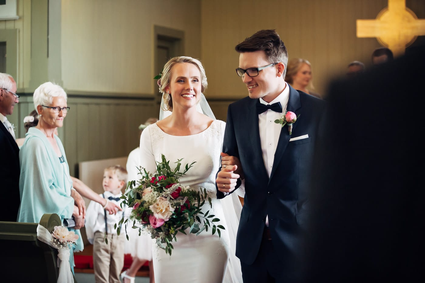 Karoline & Andreas - bryllup i Østfold med magiske detaljer Bryllup Fredrikstad Fotograf 28