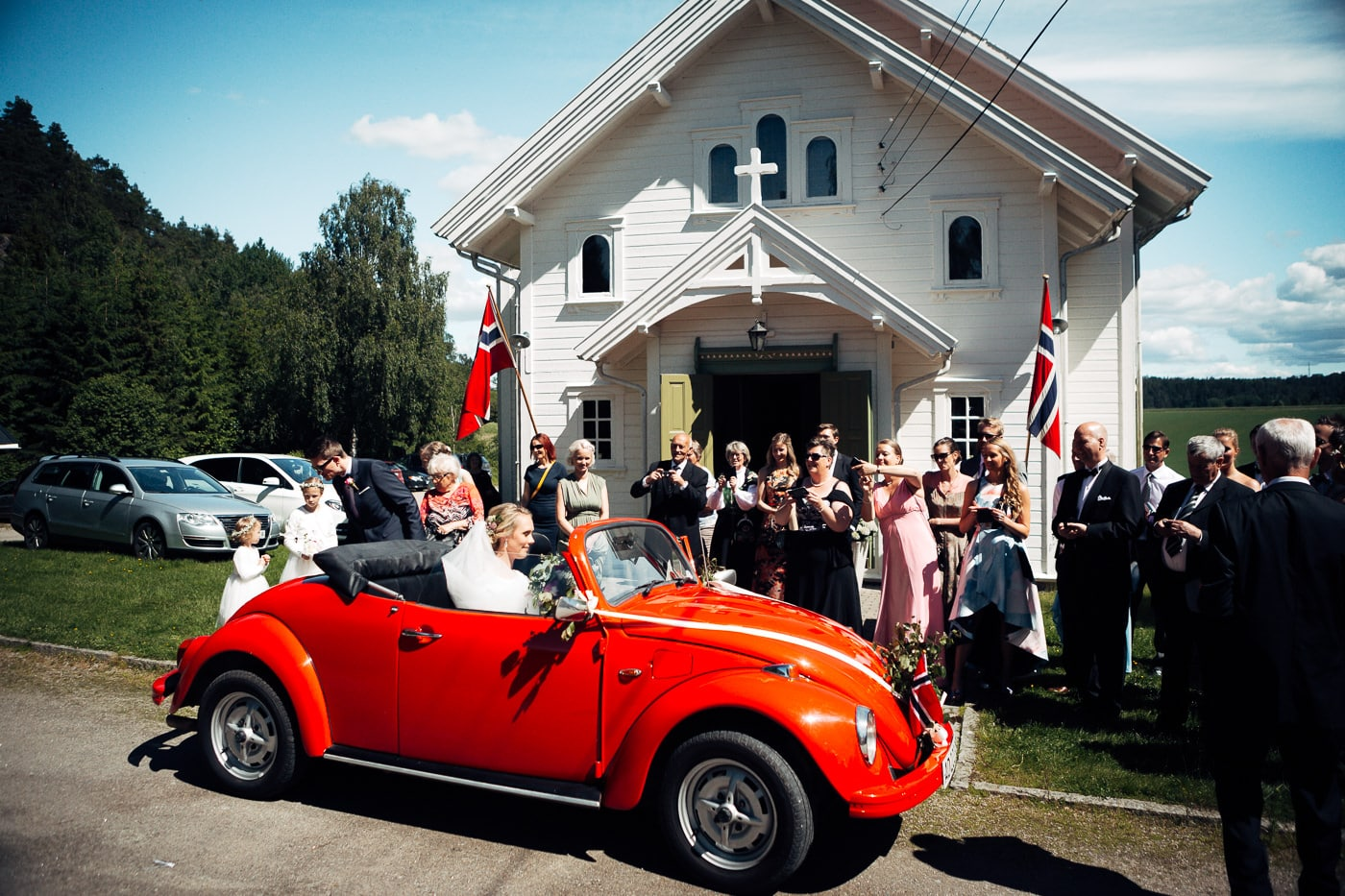 Karoline & Andreas - bryllup i Østfold med magiske detaljer Bryllup Fredrikstad Fotograf 32