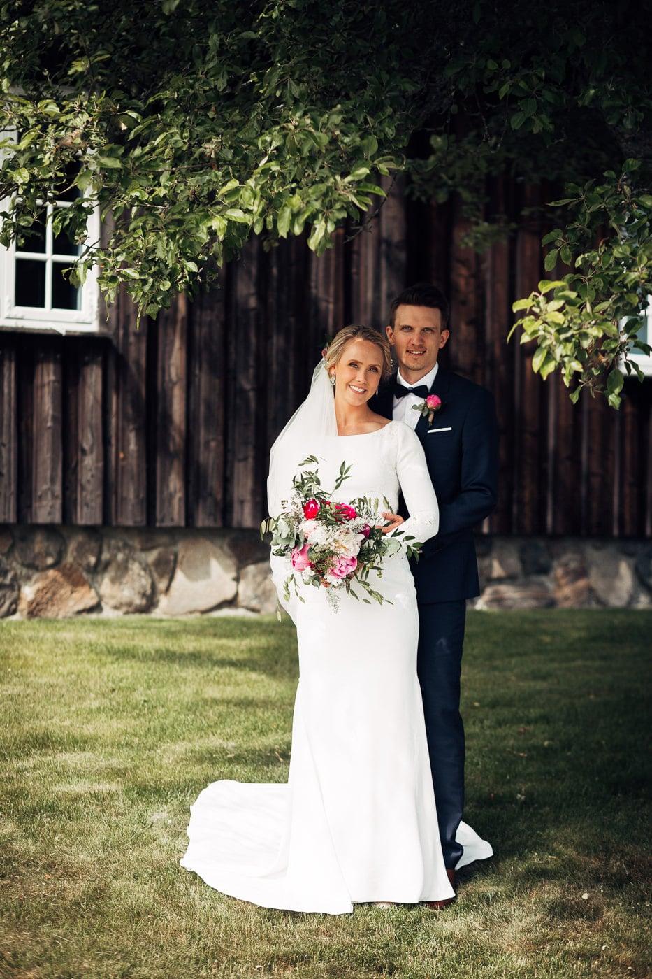 Karoline & Andreas - bryllup i Østfold med magiske detaljer Bryllup Fredrikstad Fotograf 36