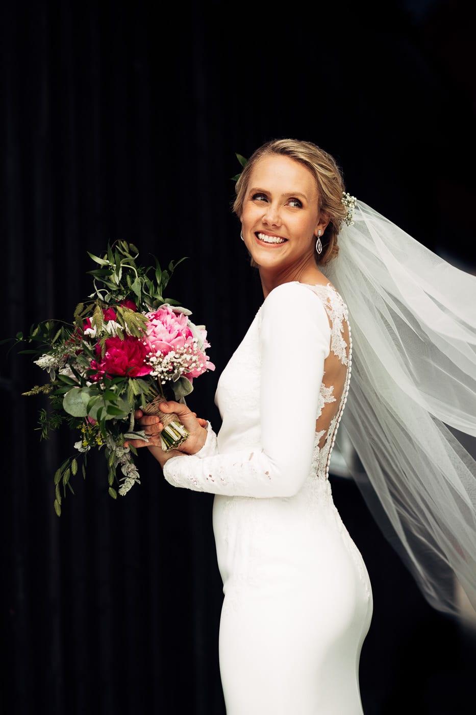 Karoline & Andreas - bryllup i Østfold med magiske detaljer Bryllup Fredrikstad Fotograf 37