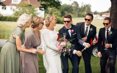 Karoline & Andreas – bryllup i Østfold med magiske detaljer