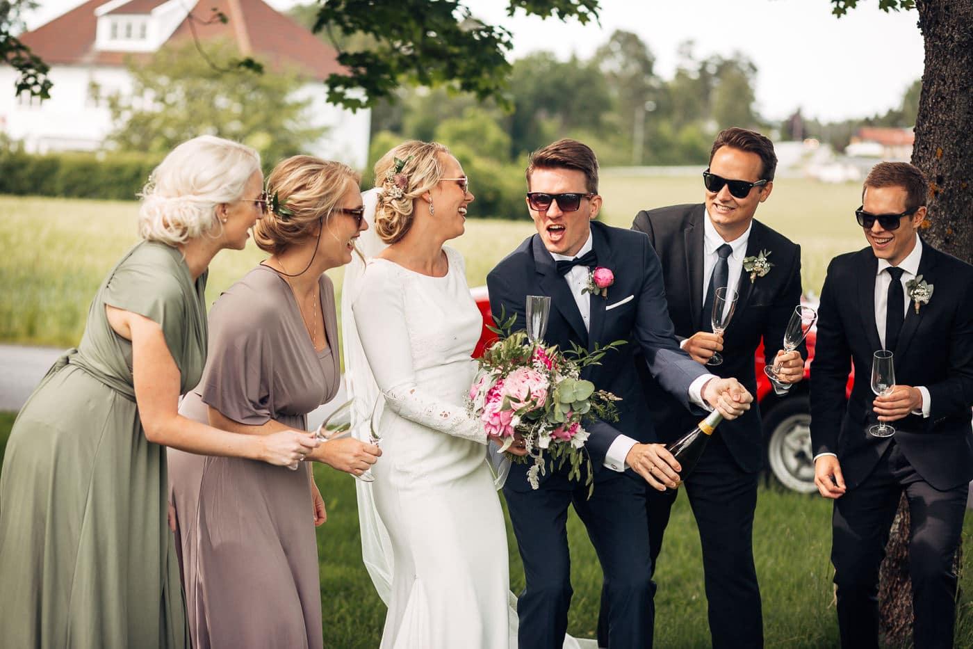 Karoline & Andreas - bryllup i Østfold med magiske detaljer Bryllup Fredrikstad Fotograf 44