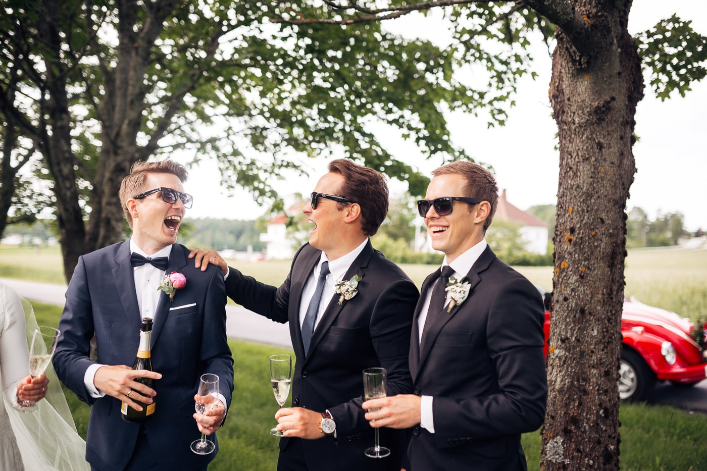 Karoline & Andreas - bryllup i Østfold med magiske detaljer Bryllup Fredrikstad Fotograf 45