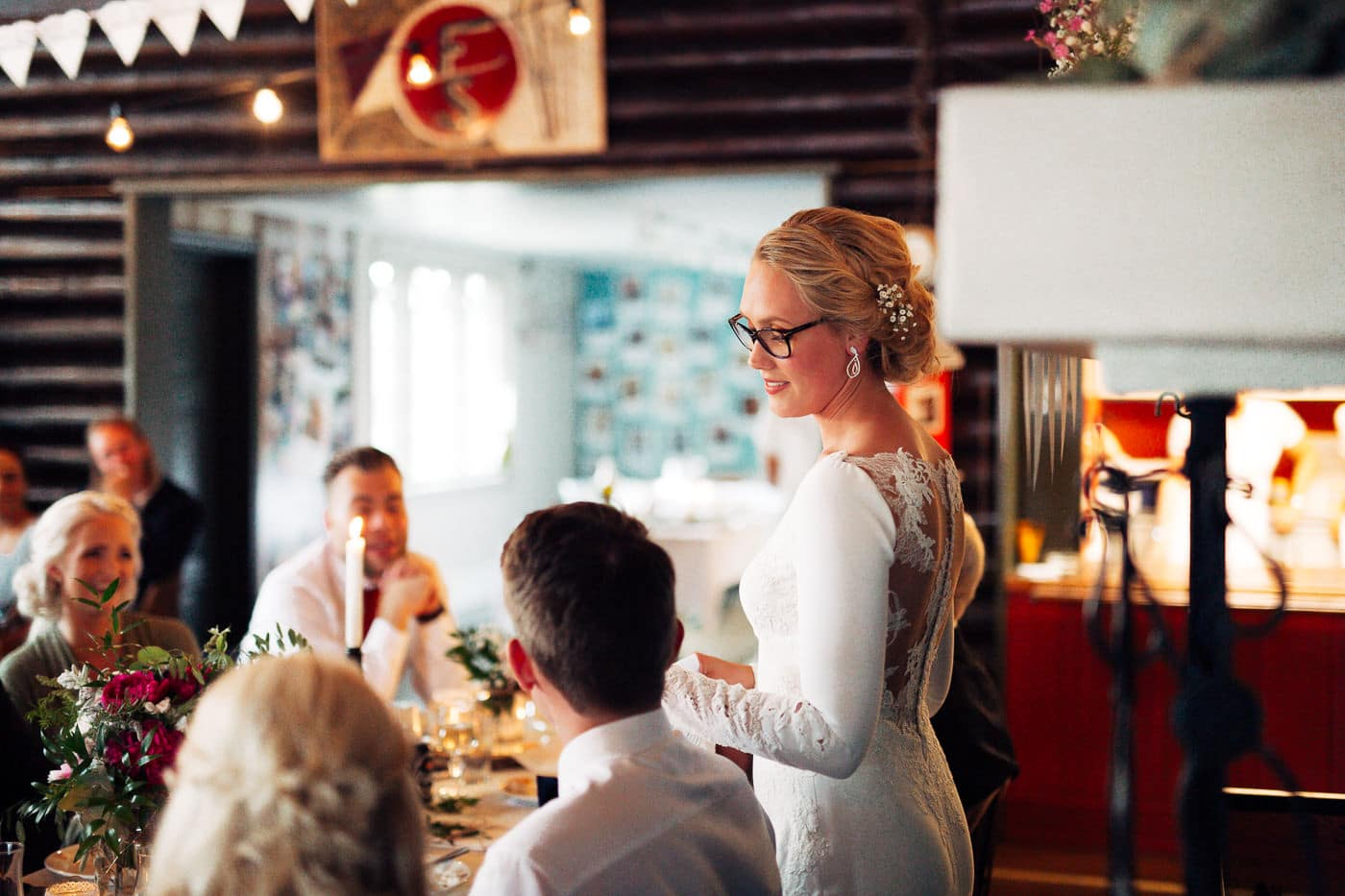 Karoline & Andreas - bryllup i Østfold med magiske detaljer Bryllup Fredrikstad Fotograf 71