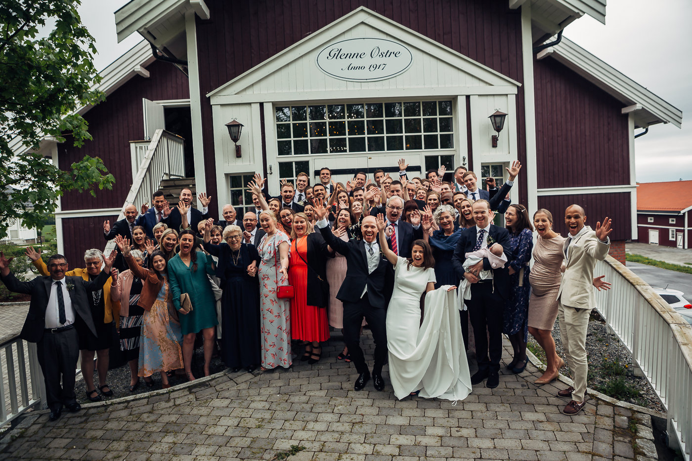 Malene & Ole Martin - elegant dansk- norskt bryllup i Oslo Bryllup Gamle Aker Oslo 21 Akershus