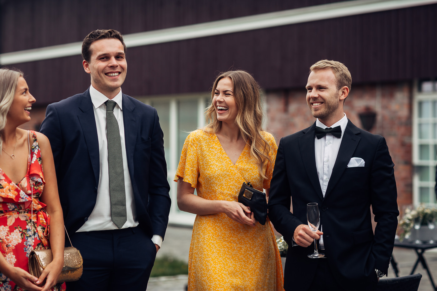 Malene & Ole Martin - elegant dansk- norskt bryllup i Oslo Bryllup Gamle Aker Oslo 24 Akershus