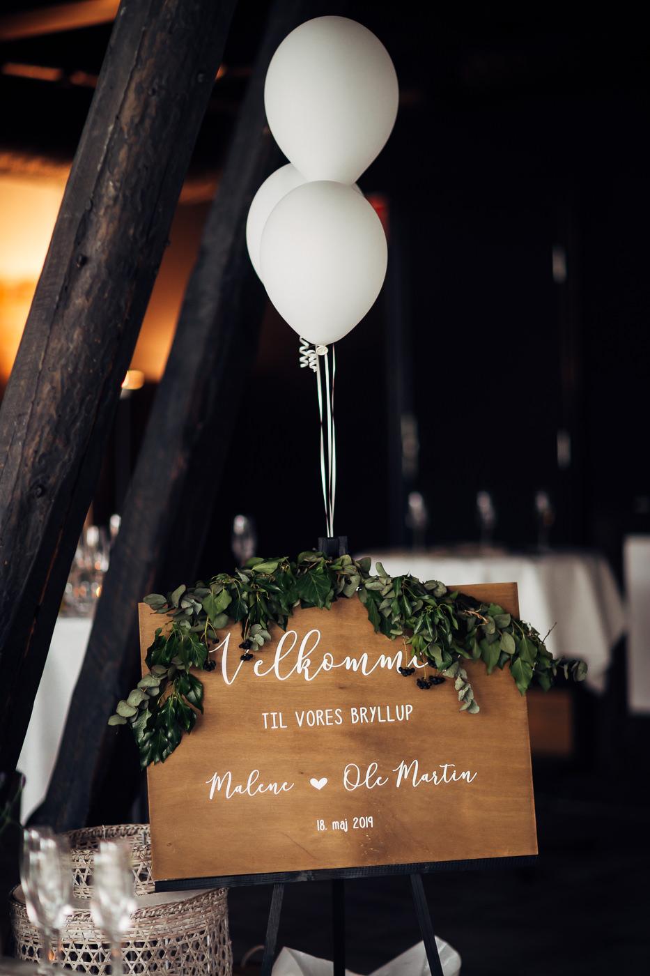 Malene & Ole Martin - elegant dansk- norskt bryllup i Oslo Bryllup Gamle Aker Oslo 25 Akershus