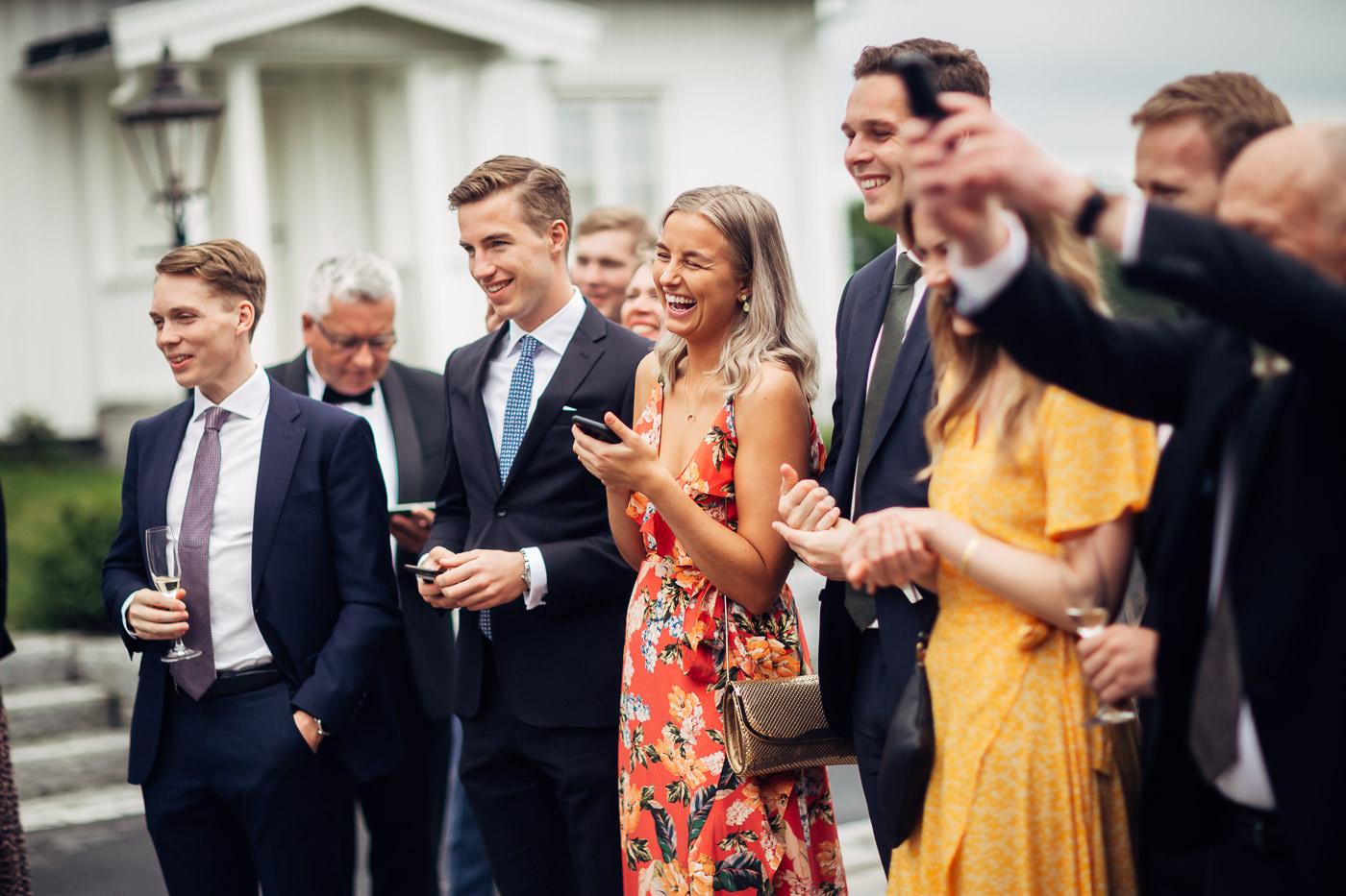 Malene & Ole Martin - elegant dansk- norskt bryllup i Oslo Bryllup Gamle Aker Oslo 26 Akershus
