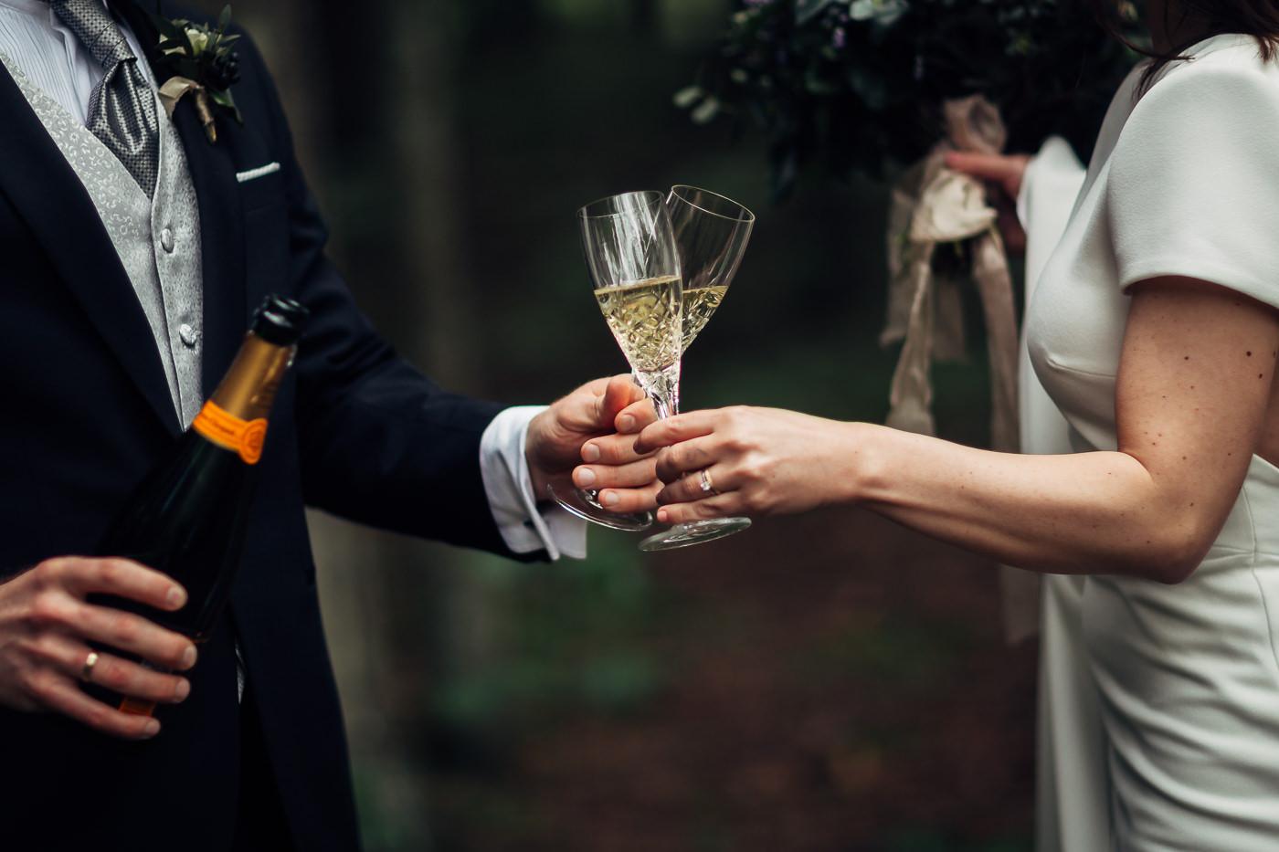 Malene & Ole Martin - elegant dansk- norskt bryllup i Oslo Bryllup Gamle Aker Oslo 29 Akershus