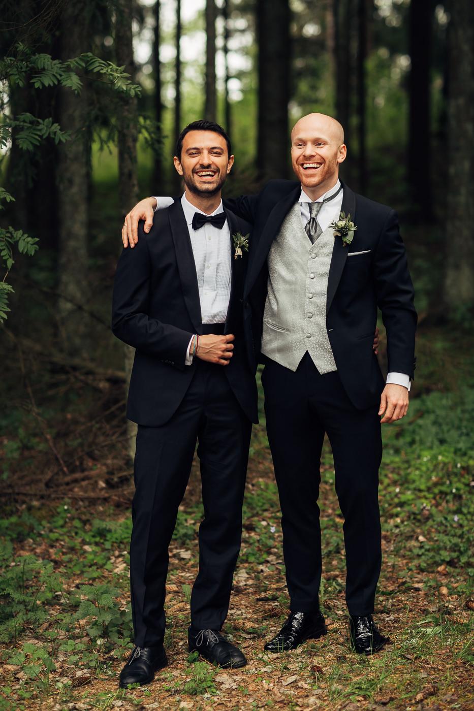 Malene & Ole Martin - elegant dansk- norskt bryllup i Oslo Bryllup Gamle Aker Oslo 34 Akershus