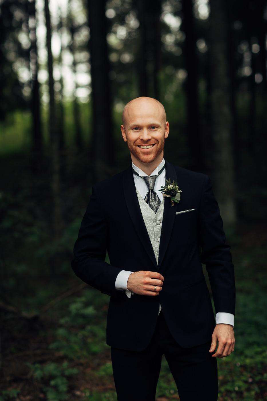 Malene & Ole Martin - elegant dansk- norskt bryllup i Oslo Bryllup Gamle Aker Oslo 36 Akershus