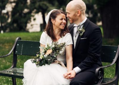 En bryllupsdag Bryllup Gamle Aker Oslo 38