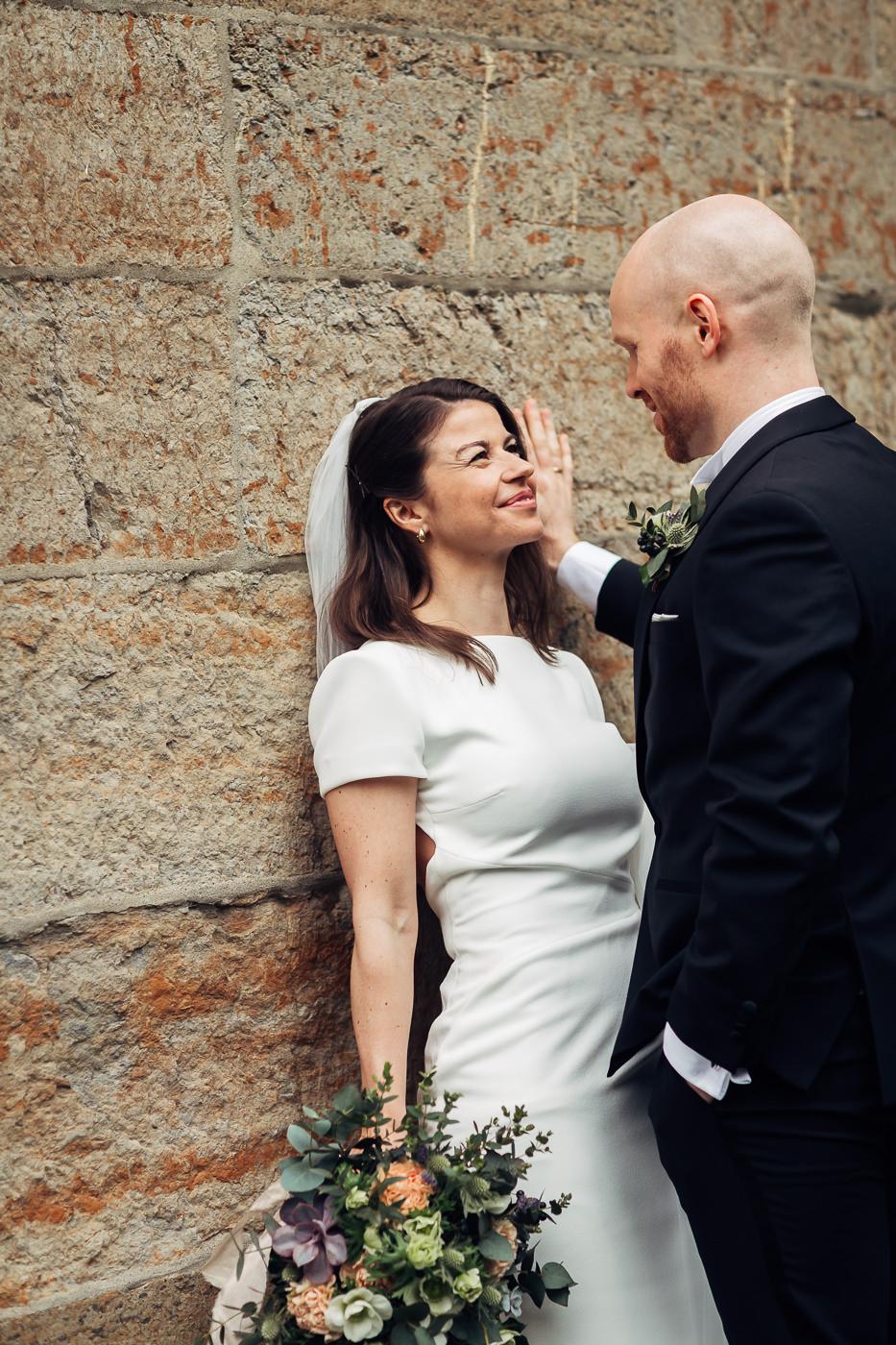 Malene & Ole Martin - elegant dansk- norskt bryllup i Oslo Bryllup Gamle Aker Oslo 42 Akershus