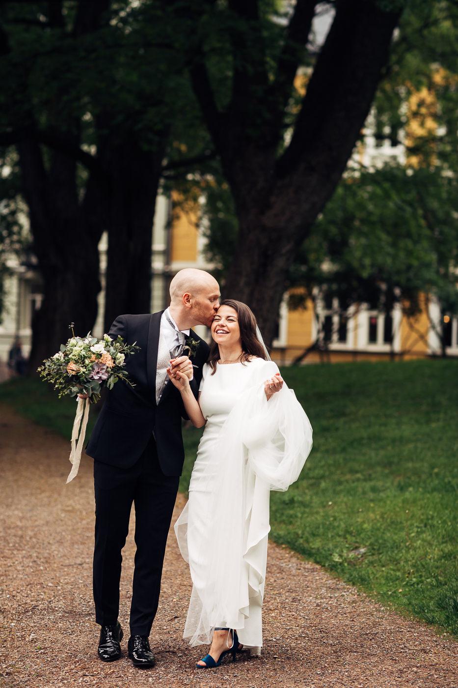 Malene & Ole Martin - elegant dansk- norskt bryllup i Oslo Bryllup Gamle Aker Oslo 43 Akershus