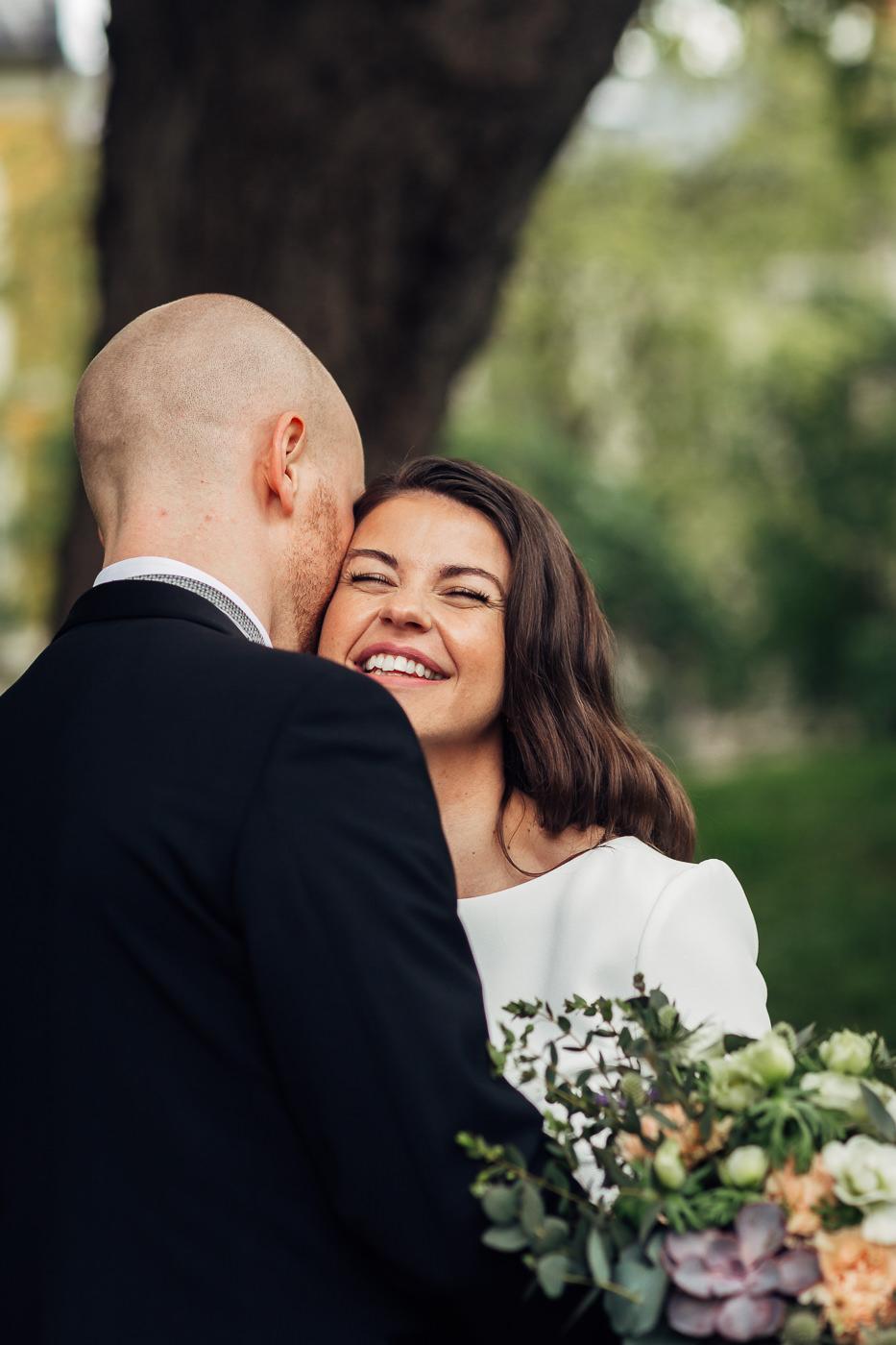 Malene & Ole Martin - elegant dansk- norskt bryllup i Oslo Bryllup Gamle Aker Oslo 44 Akershus