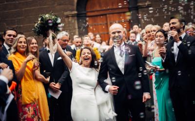 Malene & Ole Martin – elegant dansk- norskt bryllup i Oslo