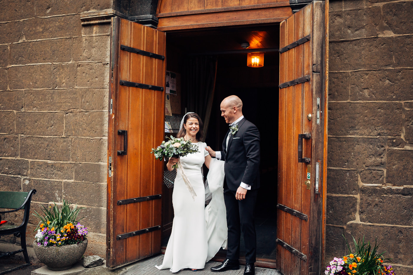 Malene & Ole Martin - elegant dansk- norskt bryllup i Oslo Bryllup Gamle Aker Oslo 46 Akershus