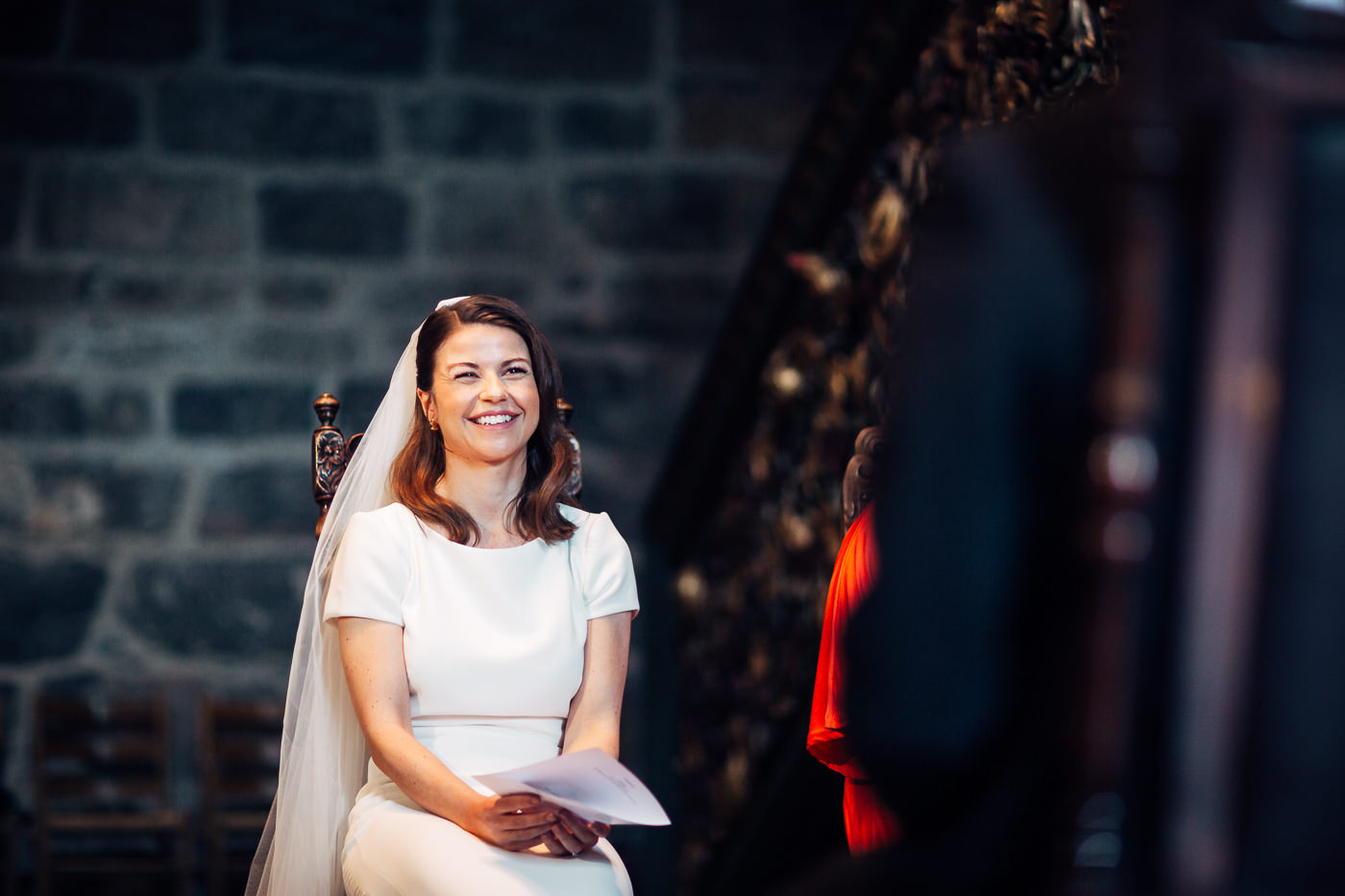 Malene & Ole Martin - elegant dansk- norskt bryllup i Oslo Bryllup Gamle Aker Oslo 49 Akershus