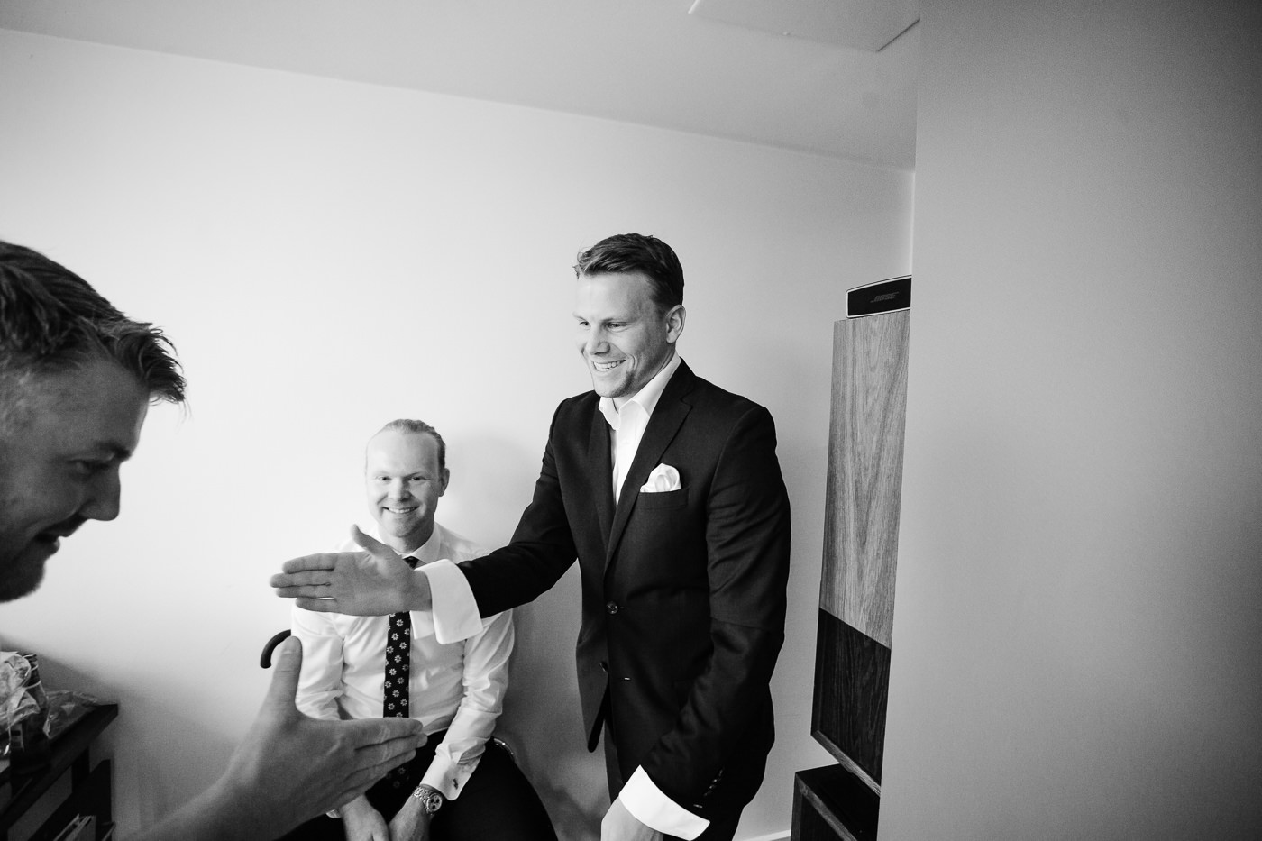 Malene & Ole Martin - elegant dansk- norskt bryllup i Oslo Bryllup Gamle Aker Oslo 60 Akershus