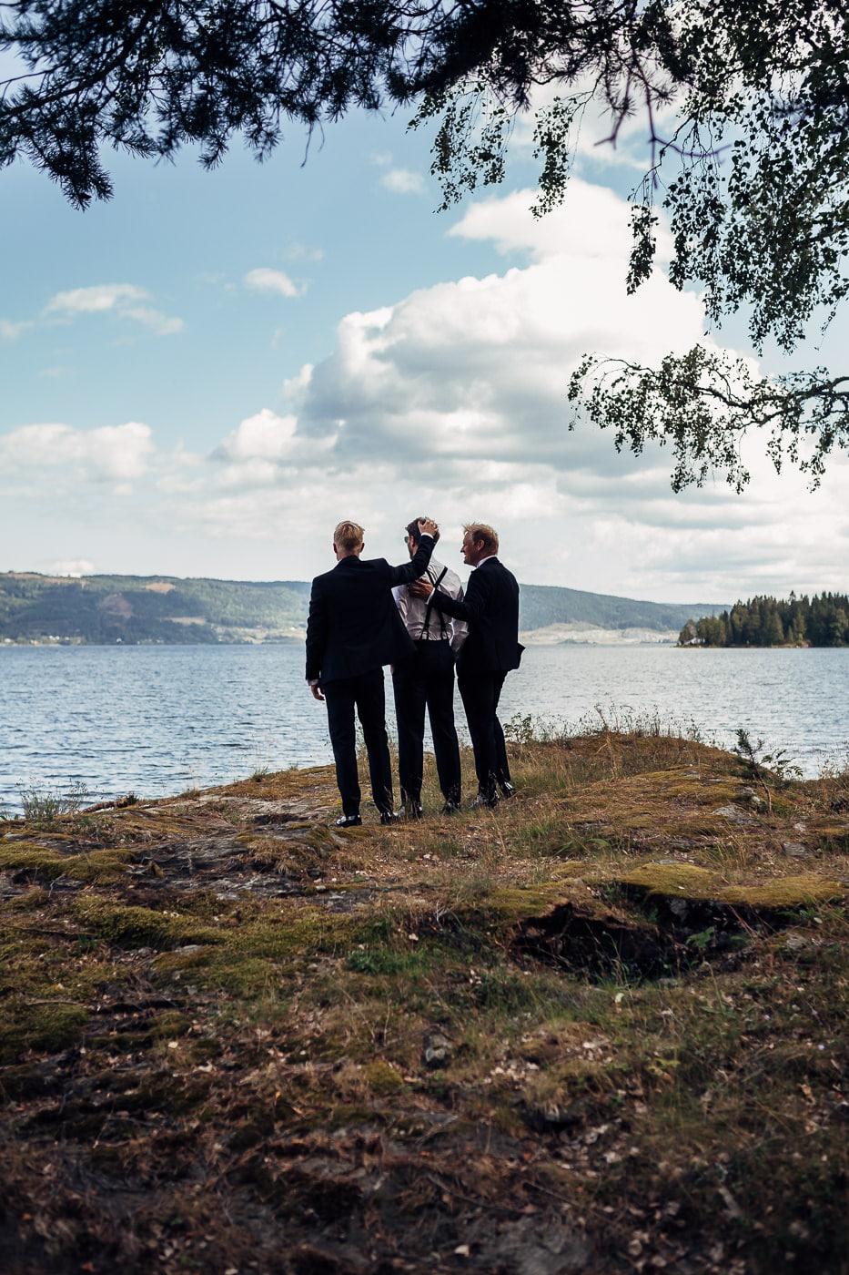 Linn & Frank - rørende og vakkert låvebryllup i Minnesund Bryllupsbilder Minnesund Eidsvoll 42 Brudepar