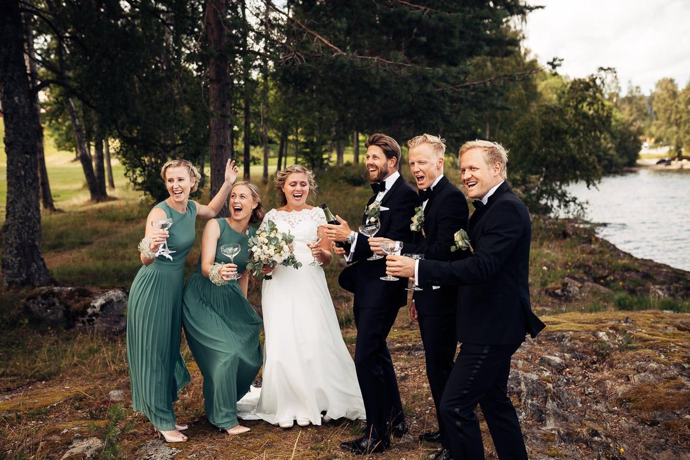 Linn & Frank - rørende og vakkert låvebryllup i Minnesund Bryllupsbilder Minnesund Eidsvoll 43 Brudepar