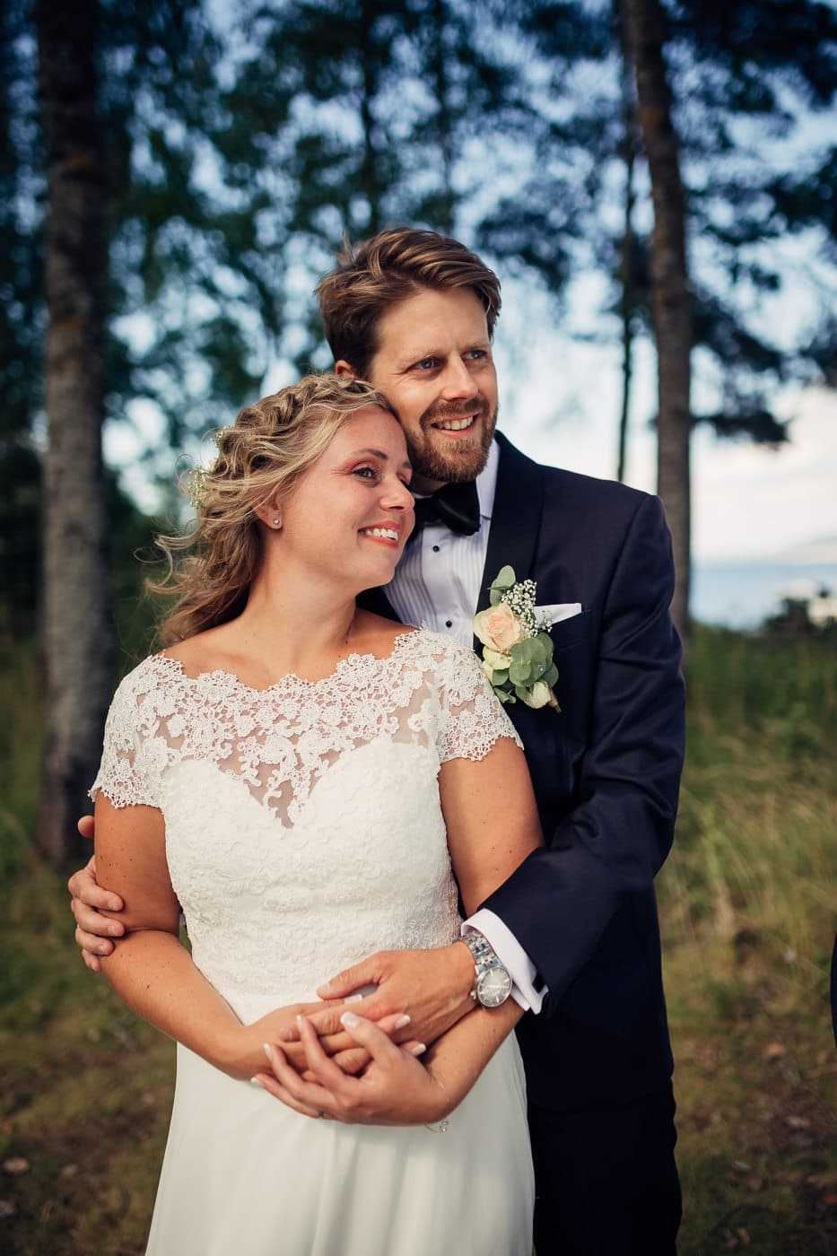 Linn & Frank - rørende og vakkert låvebryllup i Minnesund Bryllupsbilder Minnesund Eidsvoll 52 Brudepar