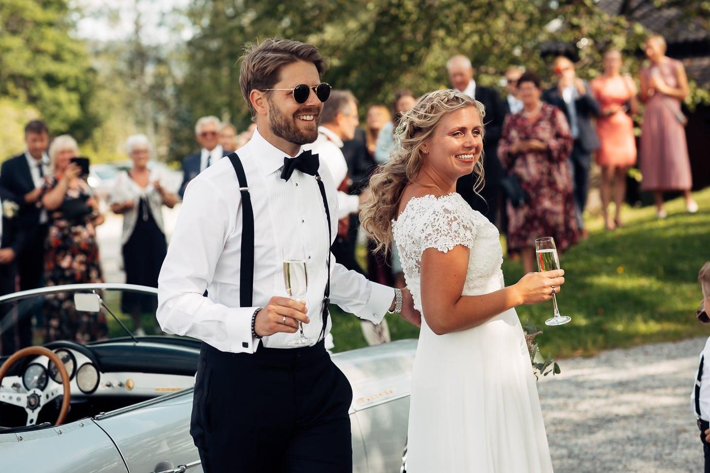 Linn & Frank - rørende og vakkert låvebryllup i Minnesund Bryllupsbilder Minnesund Eidsvoll 58 Brudepar