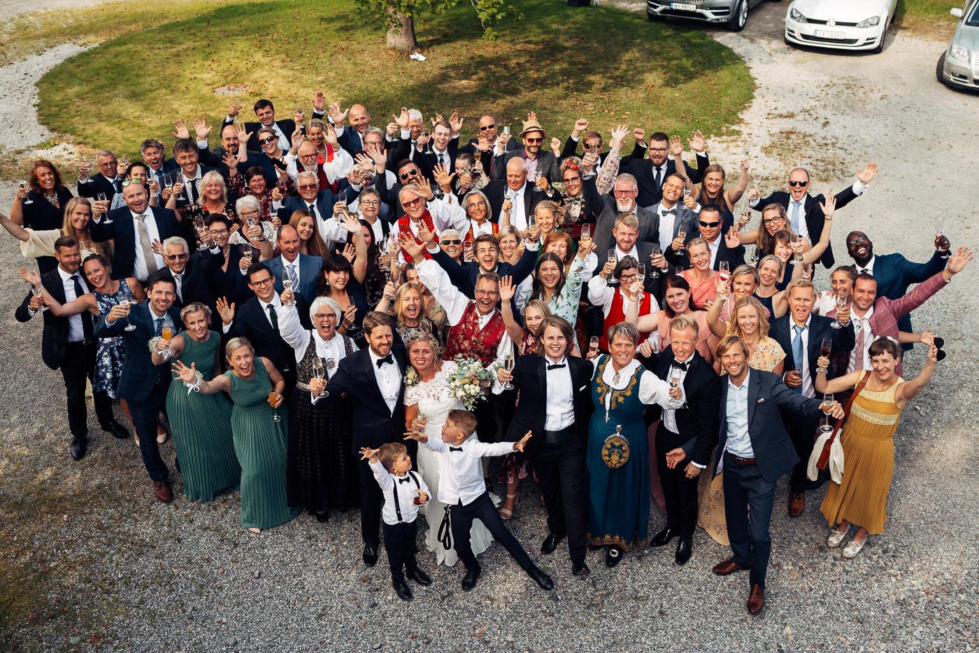 Linn & Frank - rørende og vakkert låvebryllup i Minnesund Bryllupsbilder Minnesund Eidsvoll 59 Brudepar