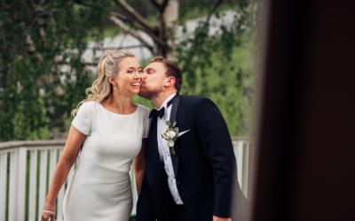 Birgitte & Joakim – vakkert og personlig bryllup i Ski