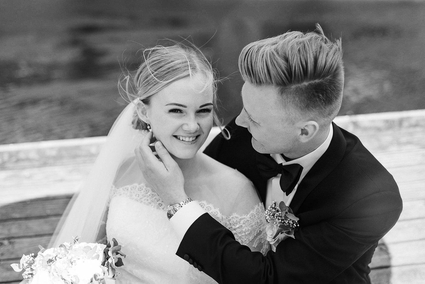 Ida Nathalie & Sebastian  - vakkert junibryllup i Lillestrøm Bryllupsfotograf Hellerud Akershus 20