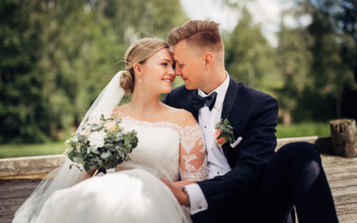 Ida Nathalie & Sebastian  – vakkert junibryllup i Lillestrøm