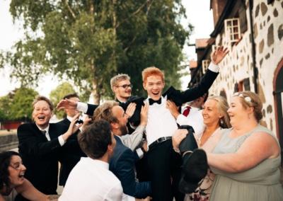 En bryllupsdag Bryllupsfotograf Larvik Stavern sommer 82