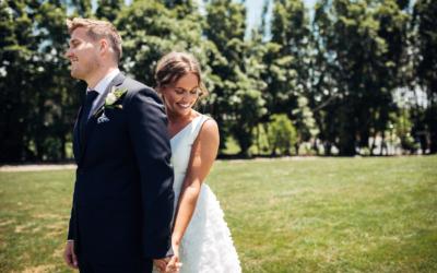 Anne-Hilde & Pieter – januarbryllup i slående vakre Tauranga, New Zealand