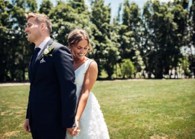 En bryllupsdag Bryllupsfotograf New Zealand strand 1 2