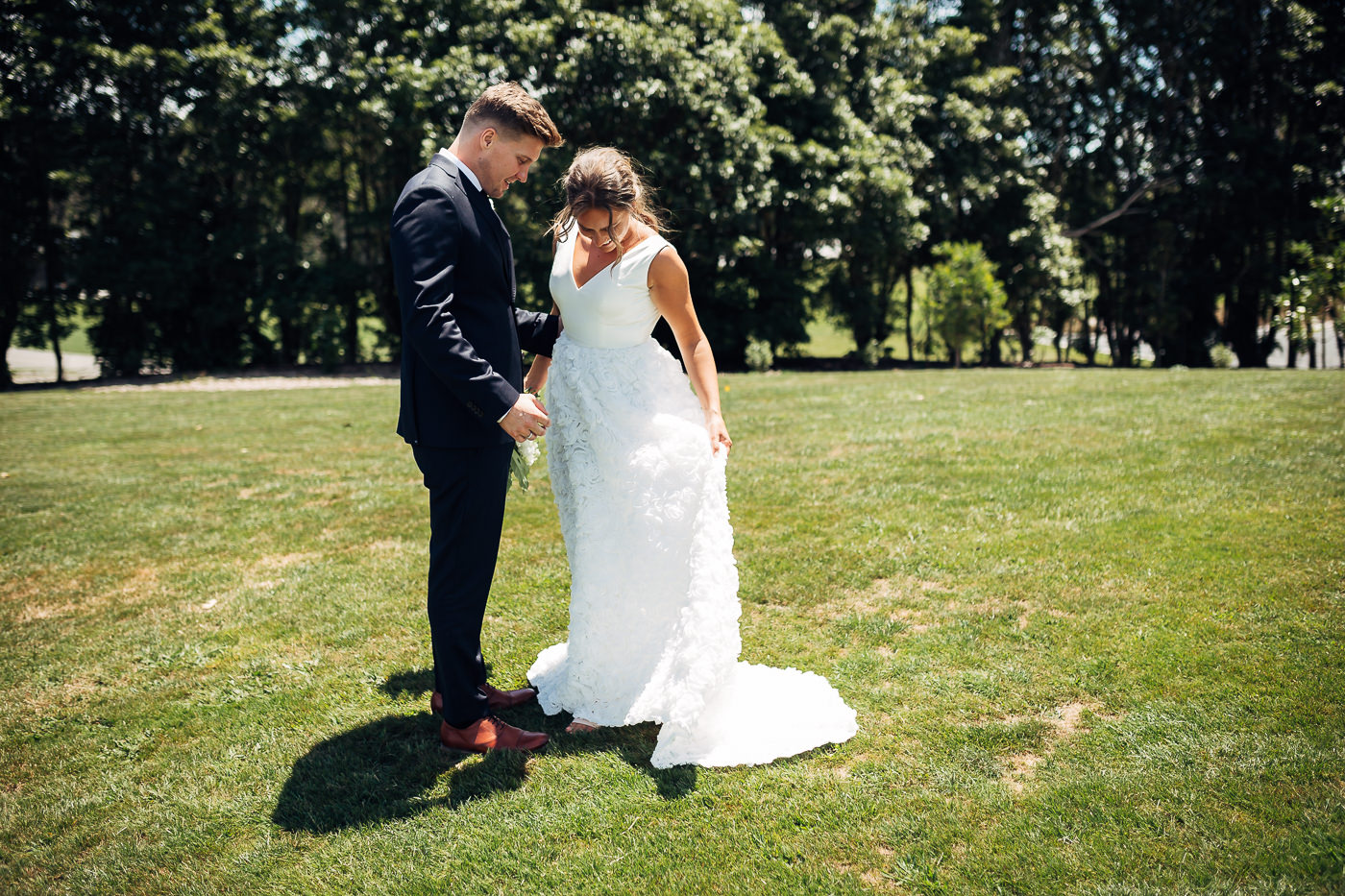 Anne-Hilde & Pieter - januarbryllup i slående vakre Tauranga, New Zealand Bryllupsfotograf New Zealand strand 29 Brudepar
