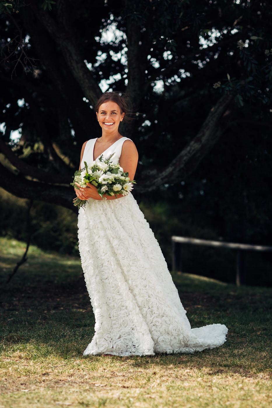 Anne-Hilde & Pieter - januarbryllup i slående vakre Tauranga, New Zealand Bryllupsfotograf New Zealand strand 9 Brudepar