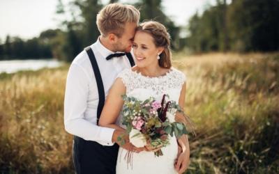 Madelen & Torstein – romantisk sommerbryllup i Sarpsborg