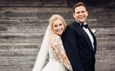 Klara & Stefan – hjertevarmt bryllup i Tønsberg