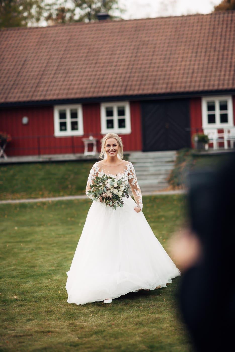 Klara & Stefan - hjertevarmt bryllup i Tønsberg Fotograf bryllup Karlsvik Vestfold 31 Brudepar