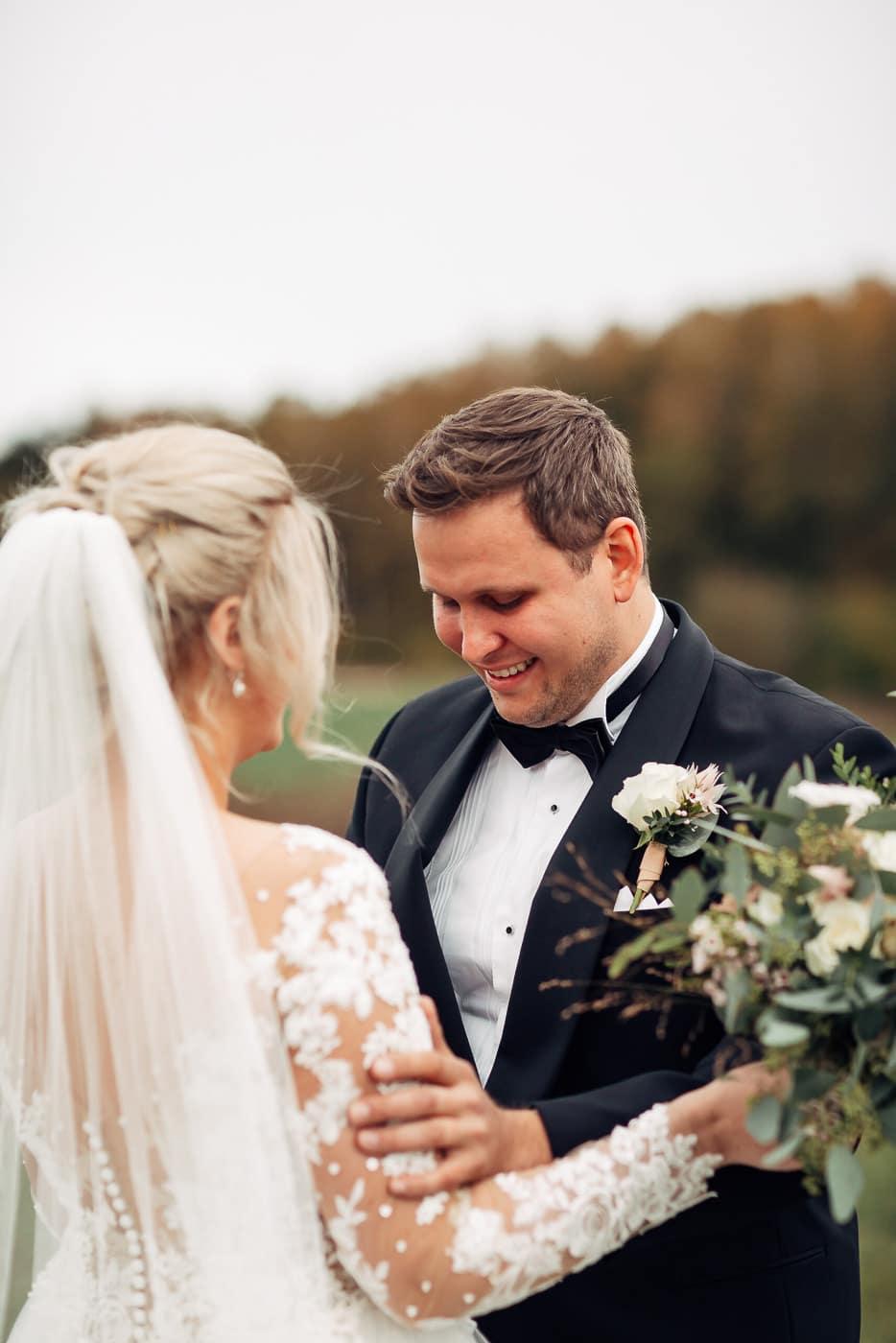 Klara & Stefan - hjertevarmt bryllup i Tønsberg Fotograf bryllup Karlsvik Vestfold 7 Brudepar