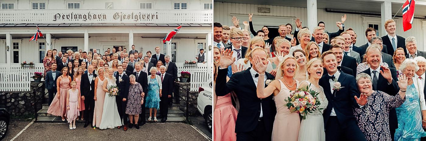 Karianne & Kent - sommerlig heldagsfotografering i Stavern Sommerbryllup Stavern Vestfold 13 Brudepar