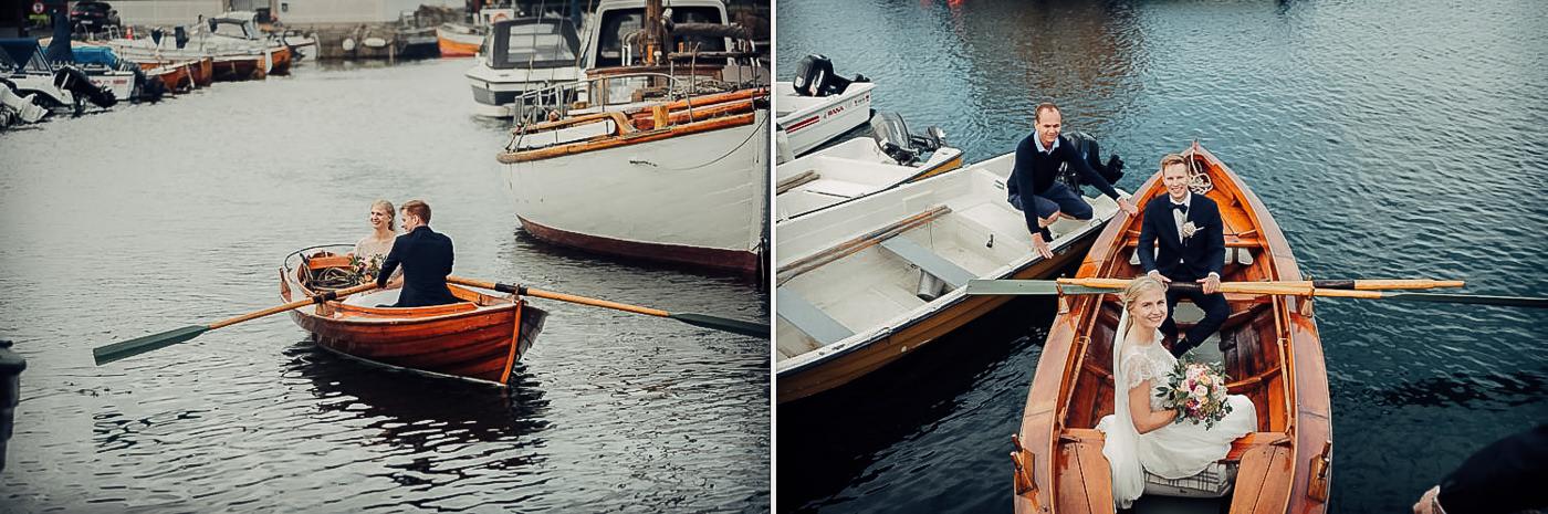 Karianne & Kent - sommerlig heldagsfotografering i Stavern Sommerbryllup Stavern Vestfold 14 Brudepar