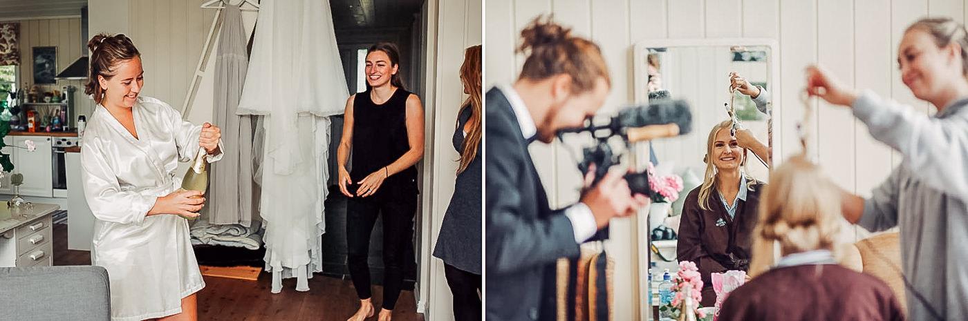 Karianne & Kent - sommerlig heldagsfotografering i Stavern Sommerbryllup Stavern Vestfold 15 Brudepar