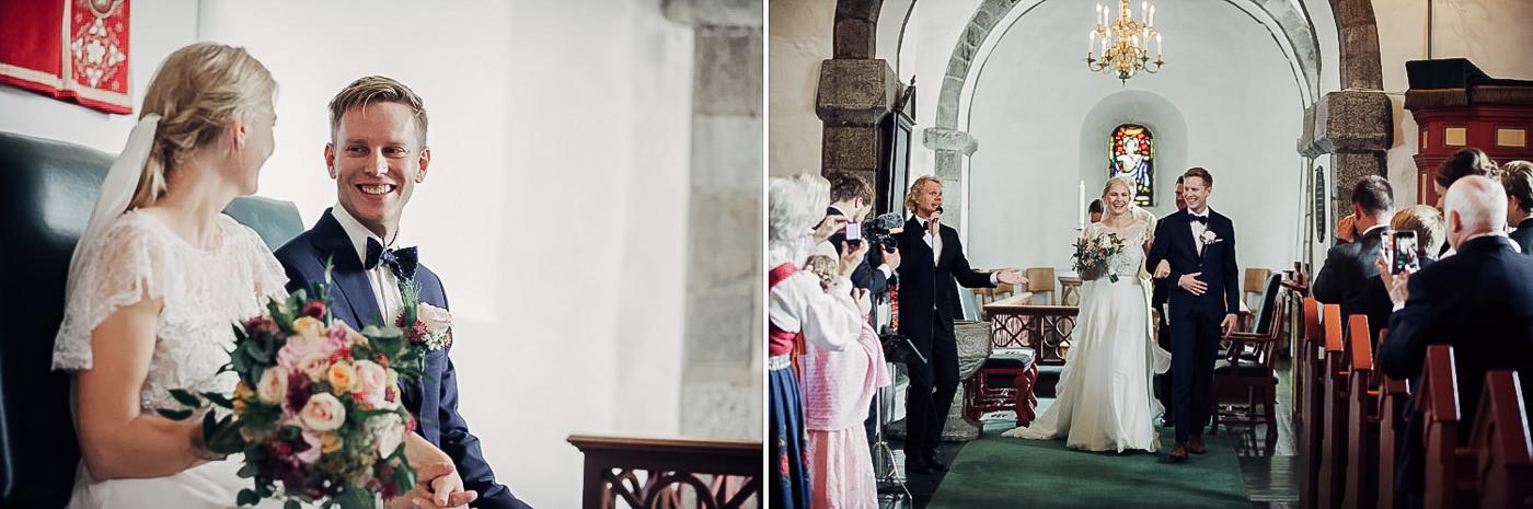 Karianne & Kent - sommerlig heldagsfotografering i Stavern Sommerbryllup Stavern Vestfold 2 Brudepar