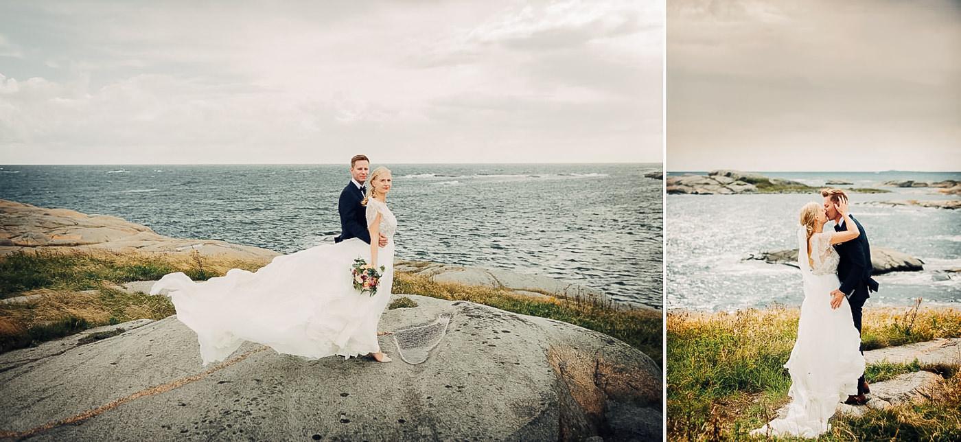 Karianne & Kent - sommerlig heldagsfotografering i Stavern Sommerbryllup Stavern Vestfold 22 Brudepar