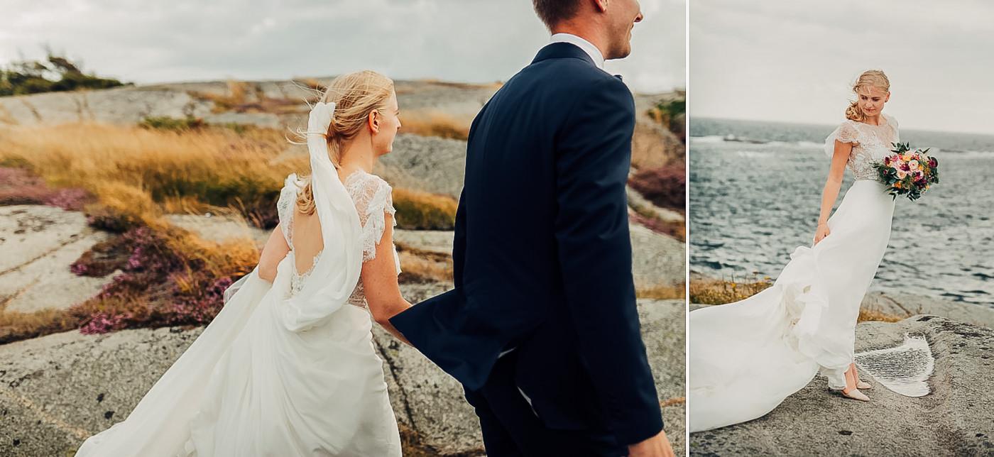 Karianne & Kent - sommerlig heldagsfotografering i Stavern Sommerbryllup Stavern Vestfold 23 Brudepar