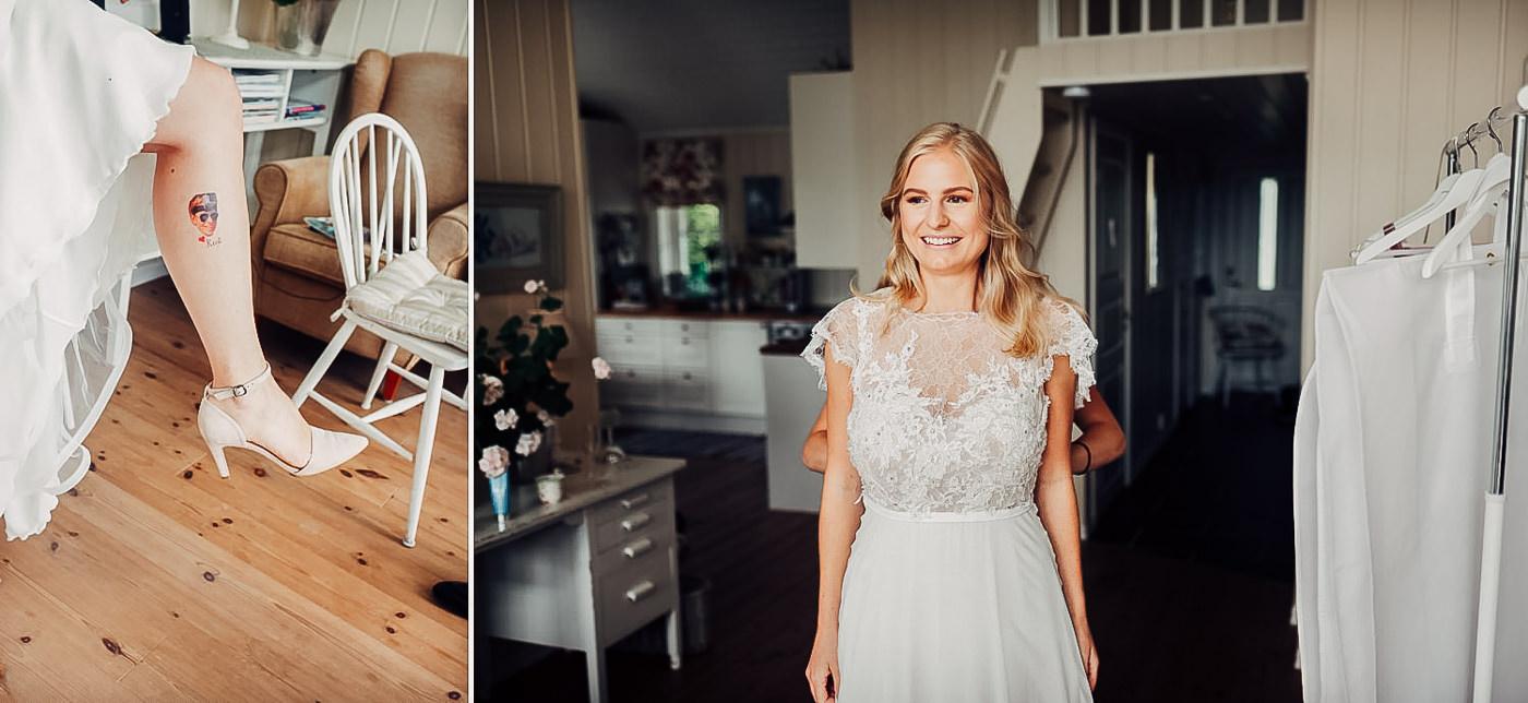 Karianne & Kent - sommerlig heldagsfotografering i Stavern Sommerbryllup Stavern Vestfold 7 Brudepar