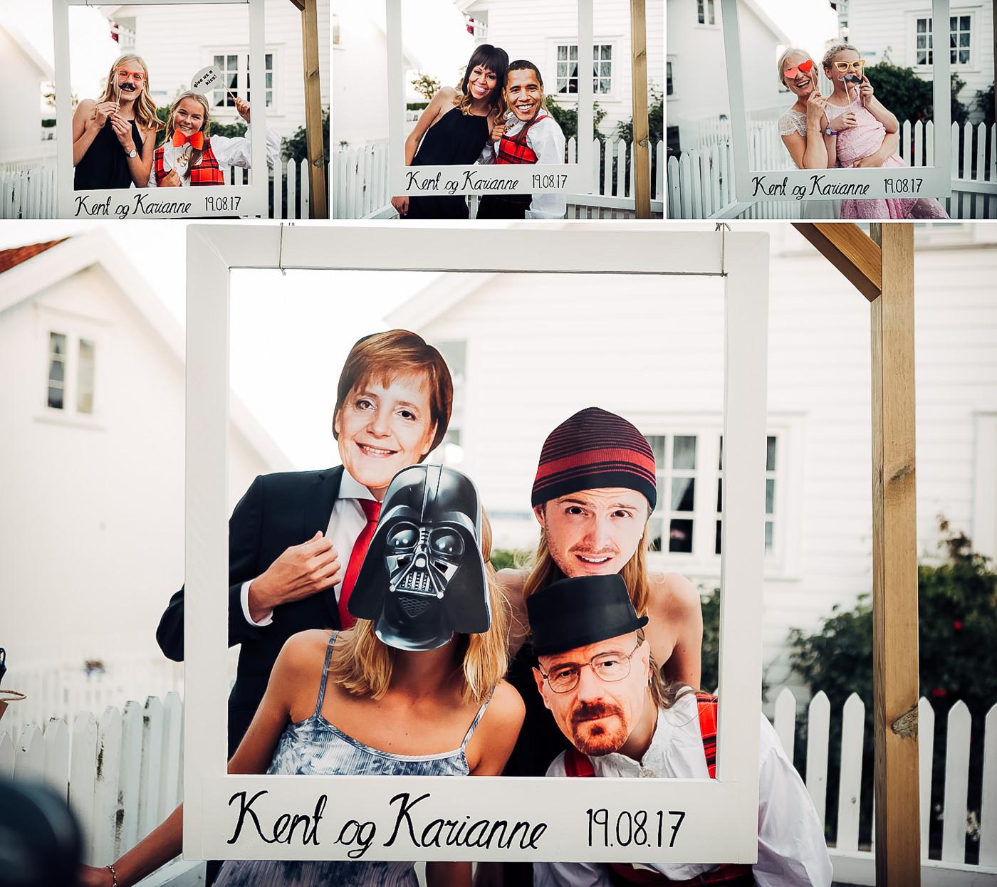 Karianne & Kent - sommerlig heldagsfotografering i Stavern Sommerbryllup Stavern Vestfold 9 Brudepar
